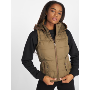 Only Vest onlDakota Mix olive