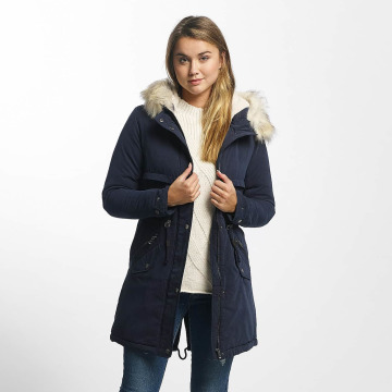 Only winterjas onlStarlight blauw