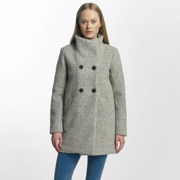 Only winterjas onlAlly Sophia Wool grijs