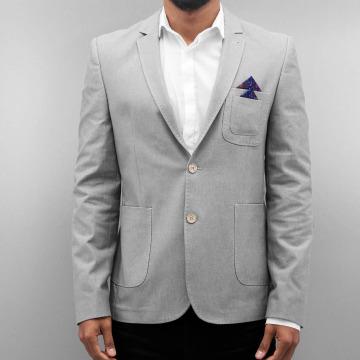 Open Blazer Basic gris