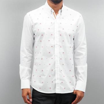 Open Camisa Stitch blanco