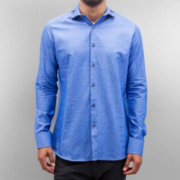 Open overhemd Classic blauw