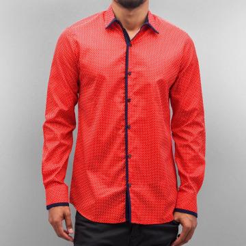 Open overhemd Dots rood