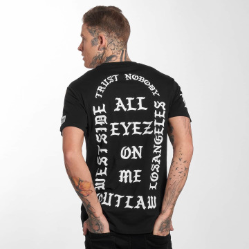 Outlaw T-Shirt Outlaw trust nobody black