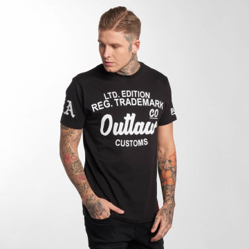 Outlaw T-Shirt Outlaw Customs black