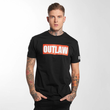 Outlaw T-shirt Outlaw Brand nero