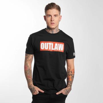 Outlaw T-shirt Outlaw Brand svart