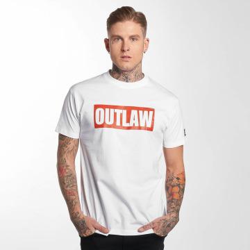 Outlaw T-shirt Outlaw Brand vit