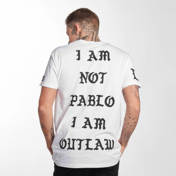Outlaw T-Shirty Pablo bialy