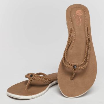 Oxbow Sandaler Viaso Faux beige