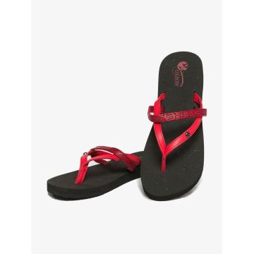 Oxbow Sandaler Voncello Wedge EVA röd