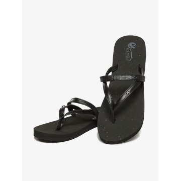 Oxbow Sandaler Voncello Wedge EVA svart