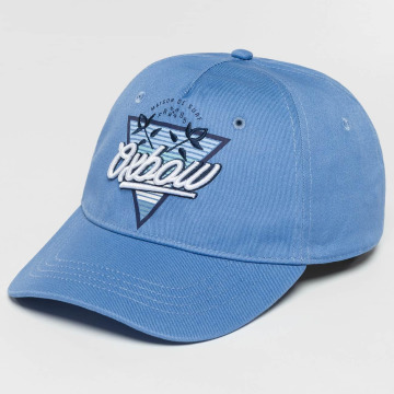 Oxbow Snapback Cap Eremo Solid blau