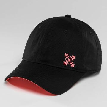 Oxbow Snapback Cap Cauva Velcro Back schwarz