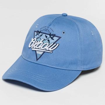 Oxbow Snapback Caps Eremo Solid blå
