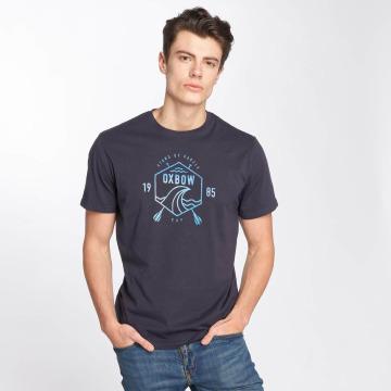 Oxbow T-shirt Silvio blå