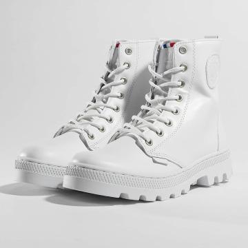 Palladium Boots Pallabosse Off Lea blanco