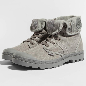 Palladium Boots Pallabrouse grijs