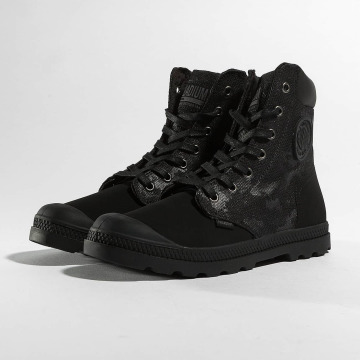 Palladium Boots Pampa Hi Knit LP Camo nero