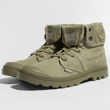 Palladium Boots Pallabrouse oliva