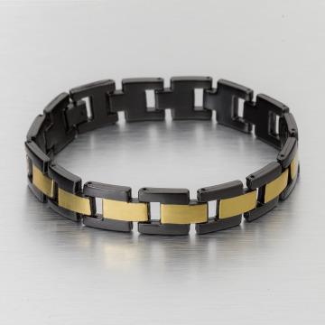 Paris Jewelry Bracciale Stainless Steel nero