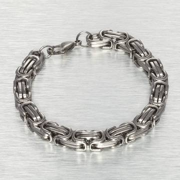 Paris Jewelry Bracelet 21 cm Stainless Steel silver colored