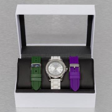 Paris Jewelry horloge Set wit