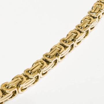 Paris Jewelry Kaulaketjut Stainless Steel kullanvärinen