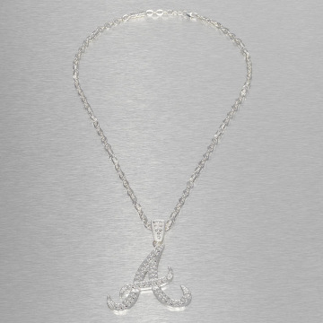 Paris Jewelry ketting Hip Hop Jewels Atlanta Braves zilver