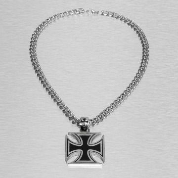 Paris Jewelry Necklace Cross silver