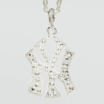 Paris Jewelry Necklace NY silver colored