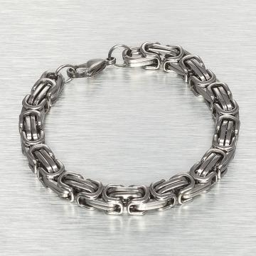 Paris Jewelry Pulsera 21 cm Stainless Steel plata