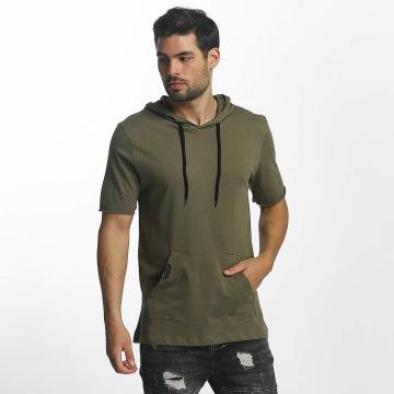Paris Premium Camiseta Hood caqui