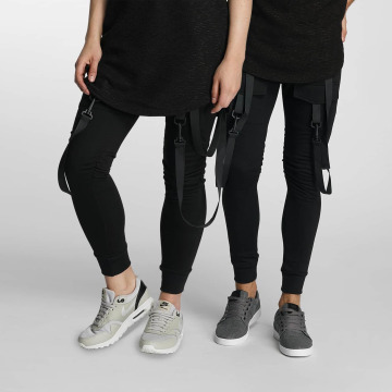Paris Premium joggingbroek Cords zwart
