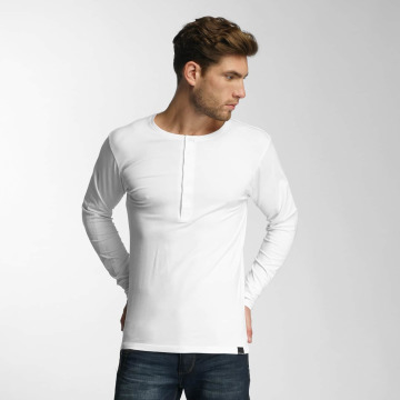 Paris Premium Pitkähihaiset paidat Basic valkoinen