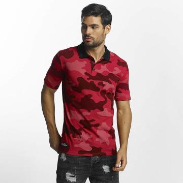 Paris Premium poloshirt Camouflage Polo rood