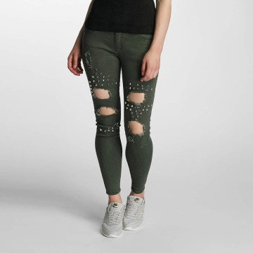 Paris Premium Skinny Jeans Denim olive
