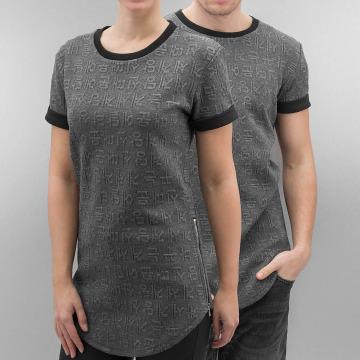 Paris Premium T-shirt longoversize Jacksonville gris
