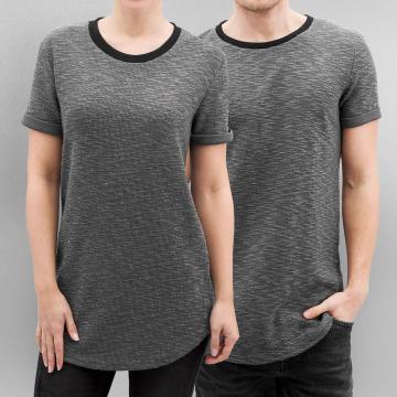 Paris Premium T-shirt longoversize Knit gris