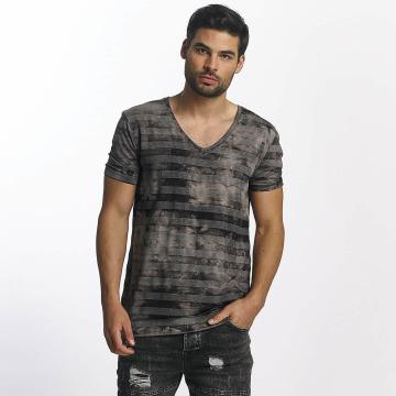 Paris Premium T-shirts Streak brun