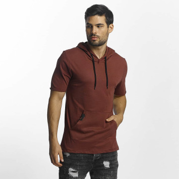 Paris Premium T-shirts Hood rød
