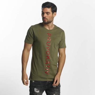 Paris Premium Trika Paris Premium T-Shirt hnědožlutý
