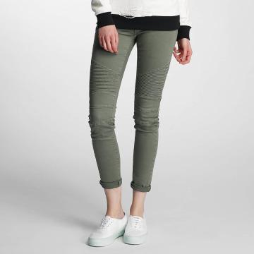 Paris Premium Tynne bukser Denim grå