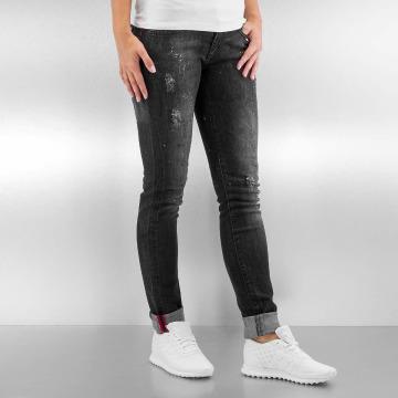 Pascucci Skinny jeans B-Cat svart
