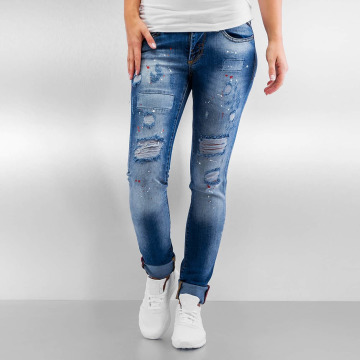 Pascucci Straight Fit Jeans B-Reno blå
