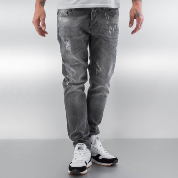 Pascucci Straight Fit Jeans Drop grey