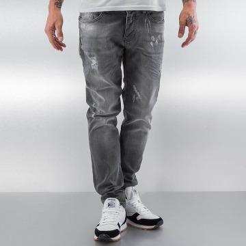 Pascucci Straight fit jeans Drop grijs