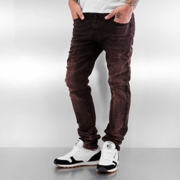 Pascucci Straight fit jeans Golo rood