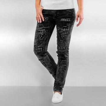 Pascucci Straight Fit Jeans B-Plip svart