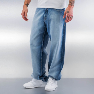 Pelle Pelle Jeans baggy Baxter blu